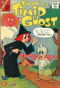 Cover Thumbnail for Timmy the Timid Ghost (Charlton, 1956 series) #36