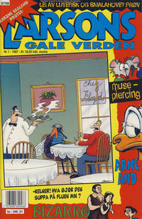 Cover Thumbnail for Larsons gale verden (Bladkompaniet / Schibsted, 1992 series) #1/1997