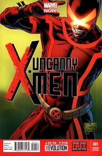 Cover Thumbnail for Uncanny X-Men (Marvel, 2013 series) #1 [Variant by Joe Quesada]