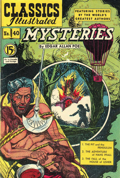 Cover for Classics Illustrated (Gilberton, 1948 series) #40