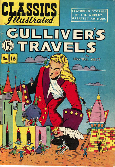 Cover for Classics Illustrated (Gilberton, 1948 series) #16