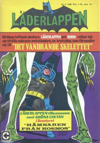 Cover for Läderlappen (Centerförlaget, 1956 series) #9/1968