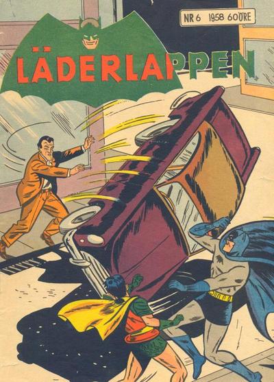 Cover for Läderlappen (Centerförlaget, 1956 series) #6/1958