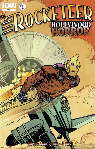Cover for The Rocketeer: Hollywood Horror (IDW, 2013 series) #1 [RI (Retailer Incentive)]