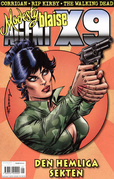 Cover for Agent X9 (Egmont, 1997 series) #1/2013