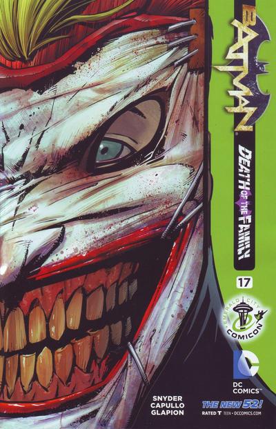 Cover for Batman (DC, 2011 series) #17 [C2E2 Cover]