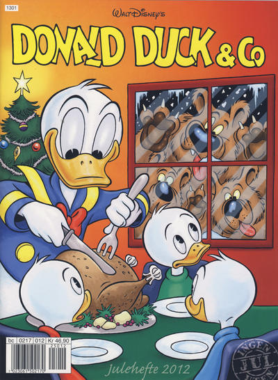 Cover for Donald Duck & Co julehefte (Hjemmet / Egmont, 1968 series) #2012