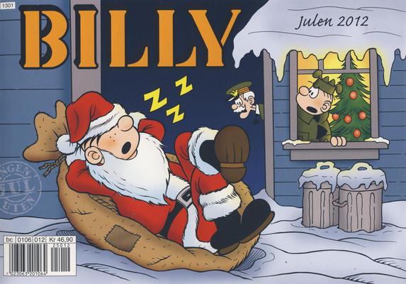 Cover for Billy julehefte (Hjemmet / Egmont, 1970 series) #2012