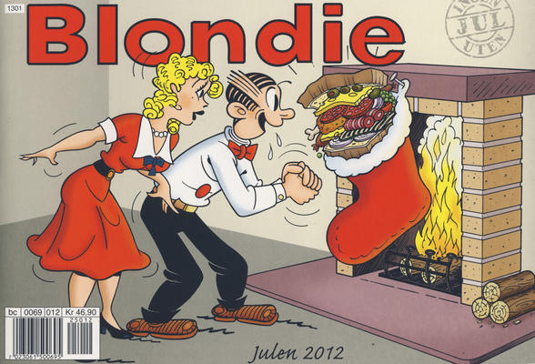Cover for Blondie (Hjemmet / Egmont, 1941 series) #2012