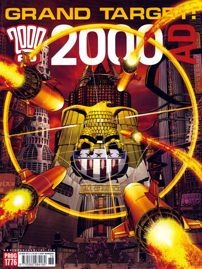 Cover for 2000 AD (Rebellion, 2001 series) #1776