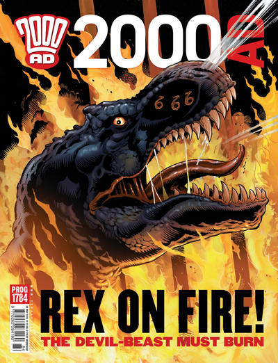 Cover for 2000 AD (Rebellion, 2001 series) #1784