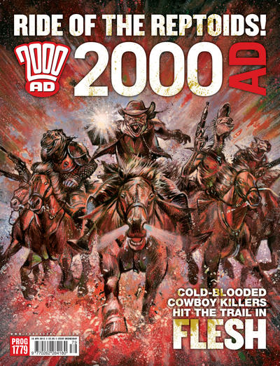 Cover for 2000 AD (Rebellion, 2001 series) #1779