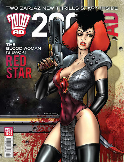 Cover for 2000 AD (Rebellion, 2001 series) #1785