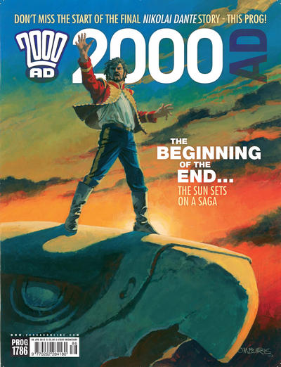 Cover for 2000 AD (Rebellion, 2001 series) #1786