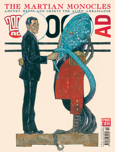 Cover for 2000 AD (Rebellion, 2001 series) #1814