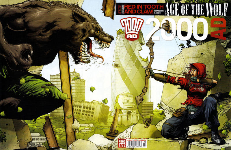 Cover for 2000 AD (Rebellion, 2001 series) #1772
