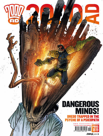 Cover for 2000 AD (Rebellion, 2001 series) #1819