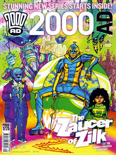 Cover for 2000 AD (Rebellion, 2001 series) #1775