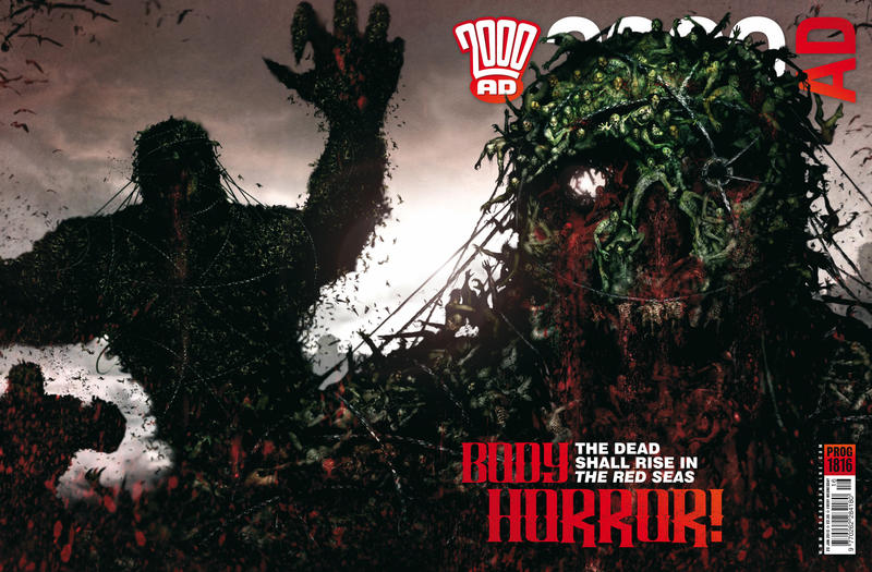 Cover for 2000 AD (Rebellion, 2001 series) #1816