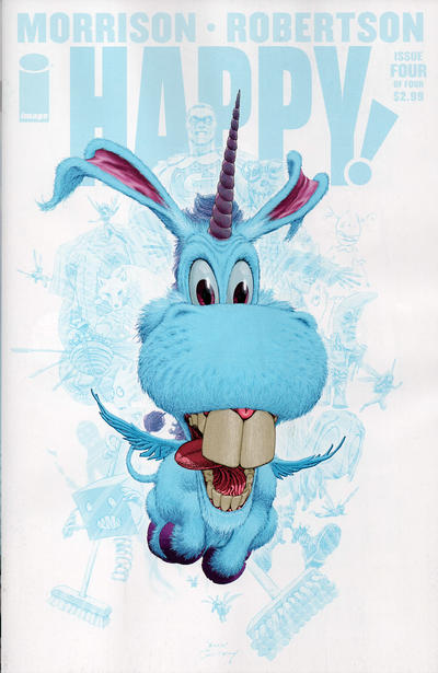 Cover for Happy! (Image, 2012 series) #4