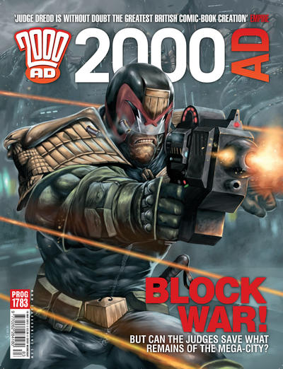 Cover for 2000 AD (Rebellion, 2001 series) #1783