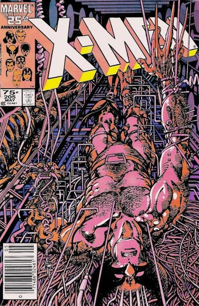 Cover for The Uncanny X-Men (Marvel, 1981 series) #205