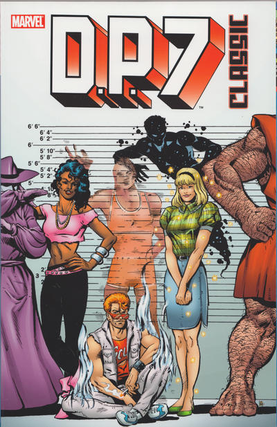 Cover for D.P. 7 Classic (Marvel, 2007 series) #1