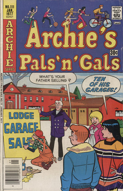 Cover for Archie's Pals 'n' Gals (Archie, 1952 series) #111