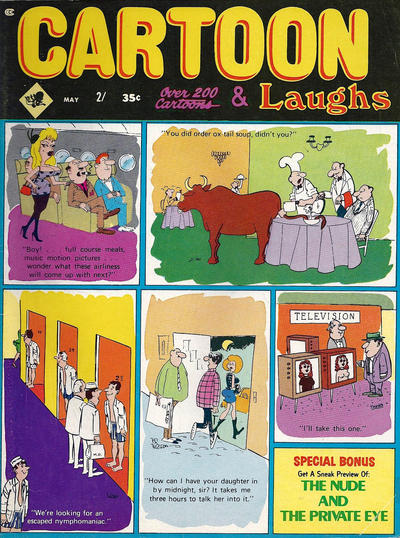 Cover for Cartoon Laughs (Marvel, 1962 series) #v9#3