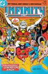 Cover for Infinity, Inc. (DC, 1984 series) #10