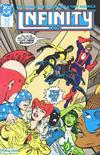 Cover for Infinity, Inc. (DC, 1984 series) #25