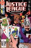 Cover for Justice League America (DC, 1989 series) #43 [Direct]