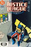 Cover for Justice League America (DC, 1989 series) #49 [Direct]