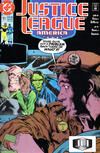 Cover for Justice League America (DC, 1989 series) #51 [Direct]