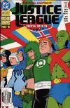 Cover for Justice League America (DC, 1989 series) #60 [Direct]