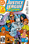 Cover for Justice League Europe (DC, 1989 series) #1 [Direct]