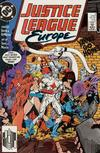 Cover for Justice League Europe (DC, 1989 series) #3 [Direct]
