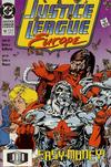 Cover for Justice League Europe (DC, 1989 series) #10 [Direct]