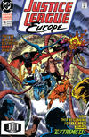 Cover for Justice League Europe (DC, 1989 series) #15 [Direct]