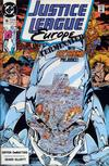 Cover for Justice League Europe (DC, 1989 series) #16 [Direct]