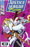 Cover for Justice League Europe (DC, 1989 series) #18 [Direct]