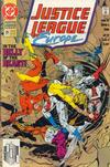 Cover for Justice League Europe (DC, 1989 series) #25 [Direct]
