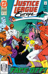 Cover for Justice League Europe (DC, 1989 series) #27 [Direct]