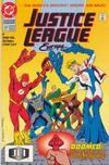 Cover for Justice League Europe (DC, 1989 series) #37 [Direct]