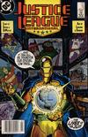 Cover Thumbnail for Justice League International (1987 series) #15 [Newsstand]