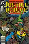 Cover Thumbnail for Justice League International (1987 series) #21 [Newsstand]