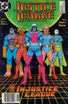 Cover Thumbnail for Justice League International (1987 series) #23 [Newsstand]