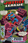 Cover for Justice League of America (DC, 1960 series) #52