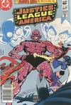 Cover Thumbnail for Justice League of America (1960 series) #206 [Newsstand]