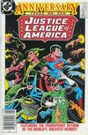 Cover Thumbnail for Justice League of America (1960 series) #250 [Newsstand]
